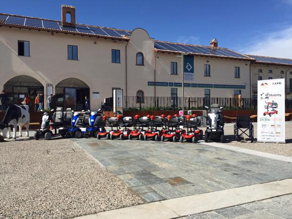 mobility center presso cascina triulza durante expo