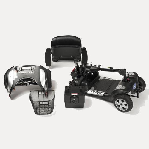 mobility scooter sport smontabile senza uso di attrezzi