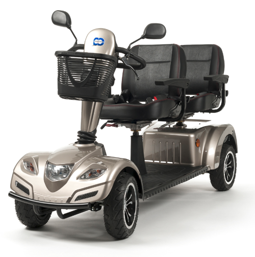 mobility scooter elettrico tandem per due persone