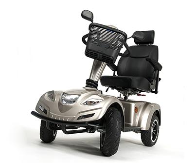 mobility scooter land affidabilità e robustezza