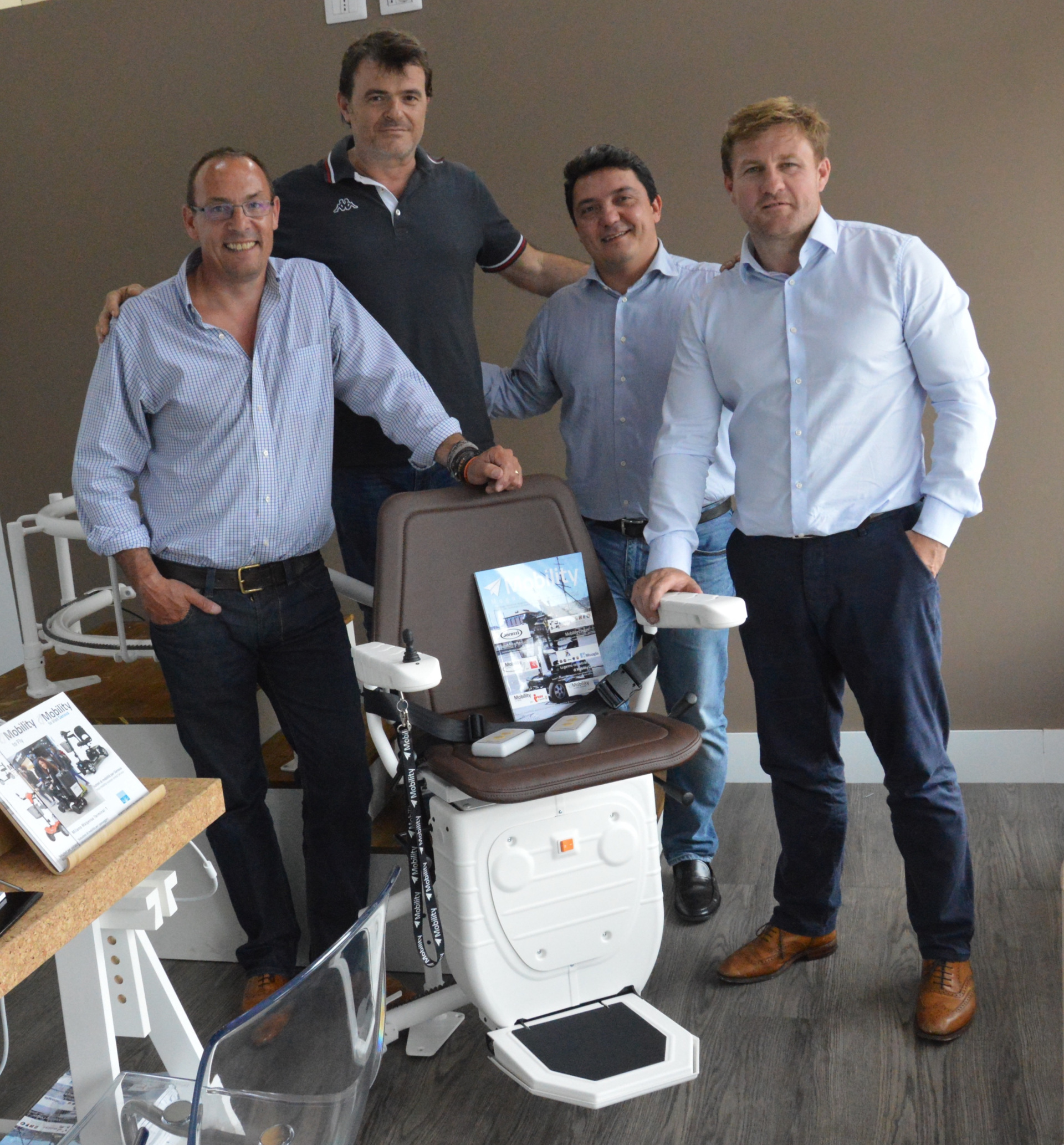 montascale bespoke stairlifts partner ufficale di mobility