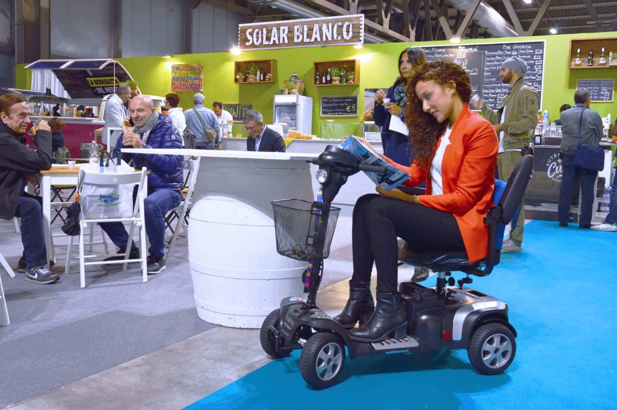 mobility scooter per anziani fiera milano