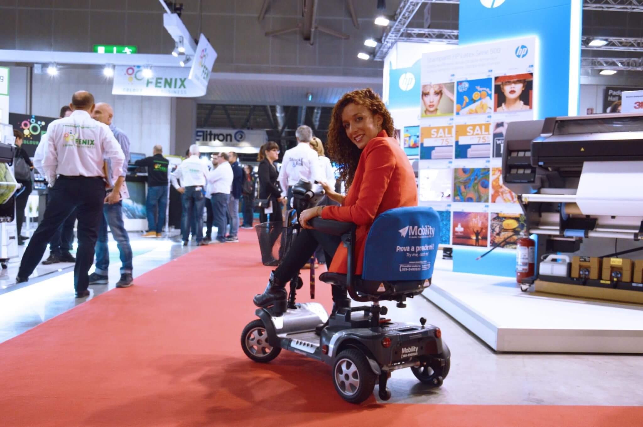 scooter per disabili fiera milano