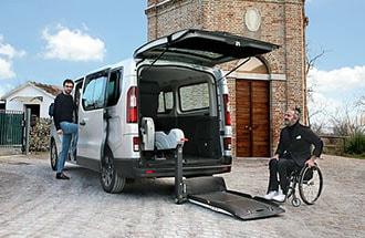 adattamenti e modifiche auto per disabili e trasporto disabili