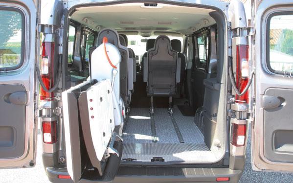 Adattamenti auto per disabili con Sollevatore Fiorella f-twister
