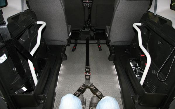 Fiat Doblò allestita per trasporto disabili in carrozzina