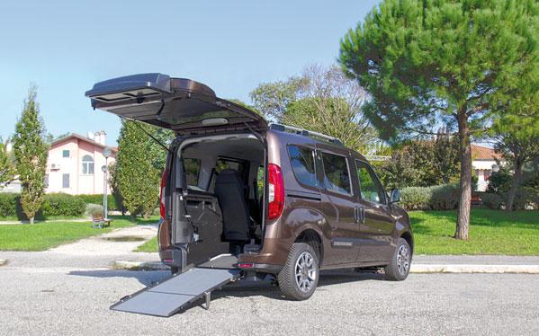 Fiat Doblo per Trasporto Disabili Focaccia Group