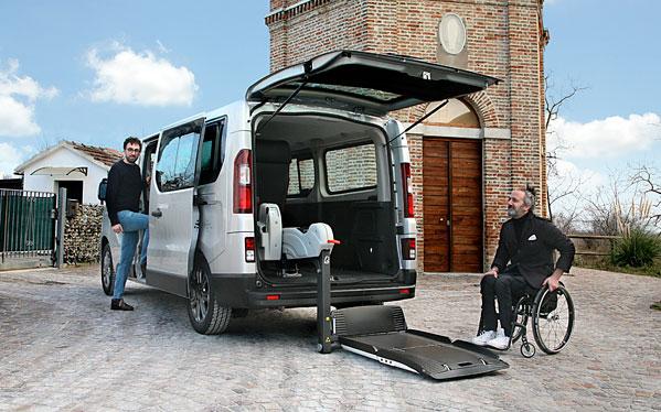 Allestimenti per Trasporto Disabili Fiat Talento