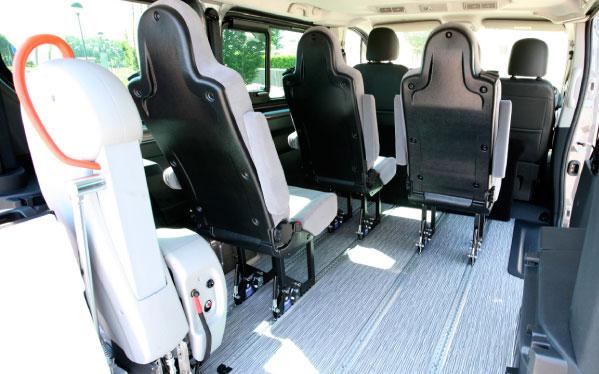 Fiat Talento: adattamenti veicoli per trasporto disabili in carrozzina