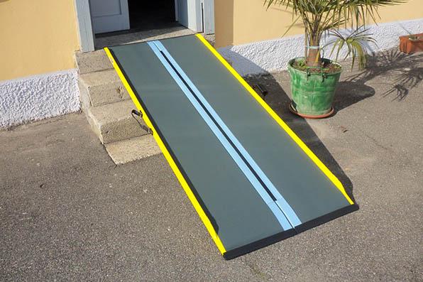 rampe per disabili trasportabili facilmente