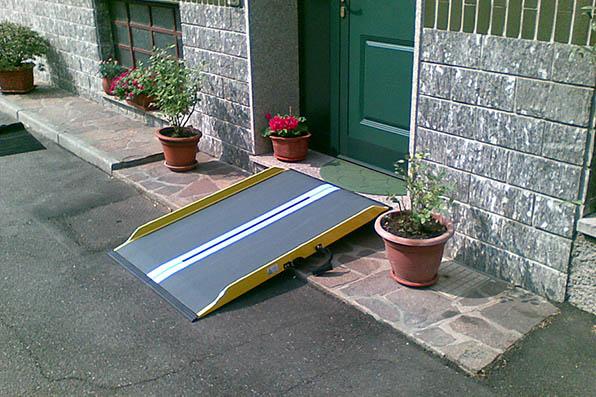 rampe portatili per superamento barriere