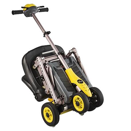scooter elettrico smontabile per disabili e anziani modello bag a noleggio temporaneo