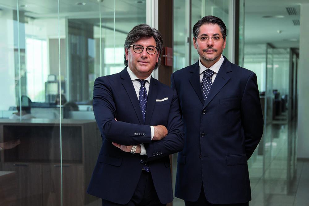 Gaetano e Giulio Caputo Fondatori nel 2001 di CMAlifts