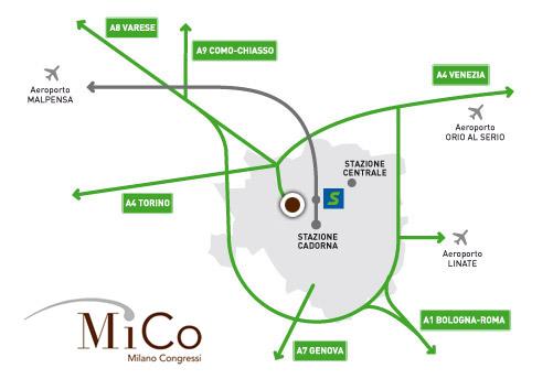 come arrivare a Milano Congressi MiCo e Mobility Center