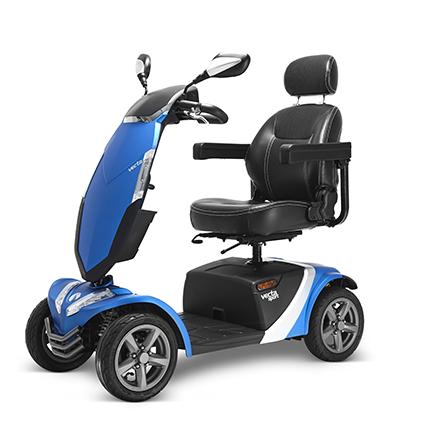 scooter elettrico per disabili e anziani modello vecta a noleggio temporaneo