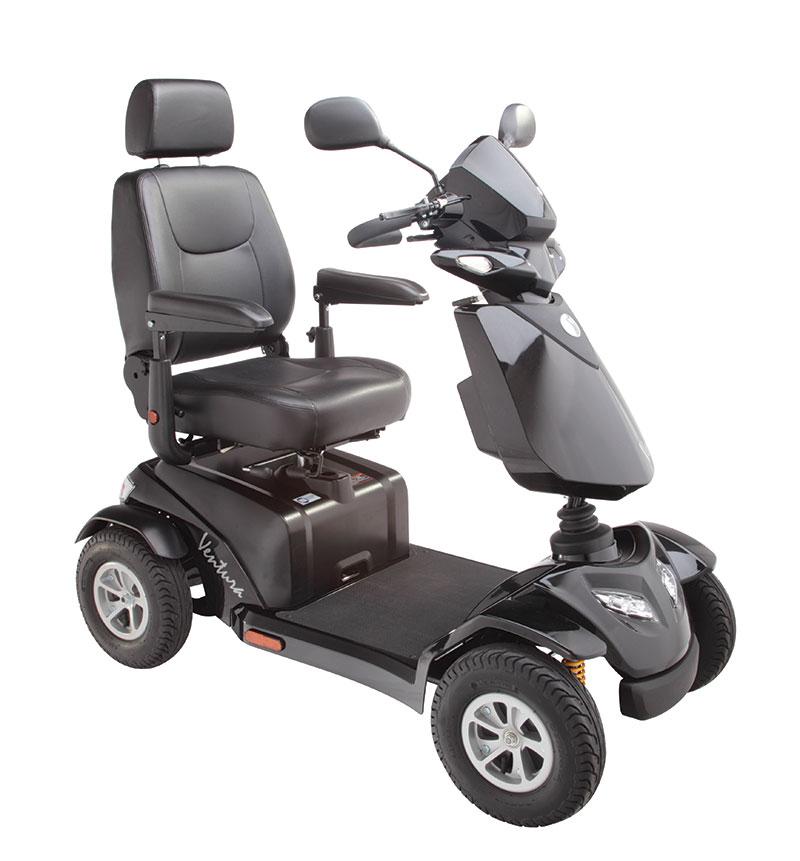 mobility scooter ventura resistente e sicuro ideale soprattutto all'esterno nella vita di tutti i giorni