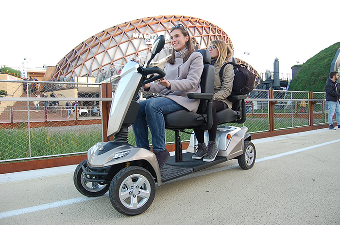 mobility scooter tandem in expo milano 2015