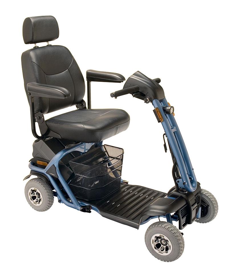 mobility scooter liteway 8 facilmente trasportabile per disabili e anziani