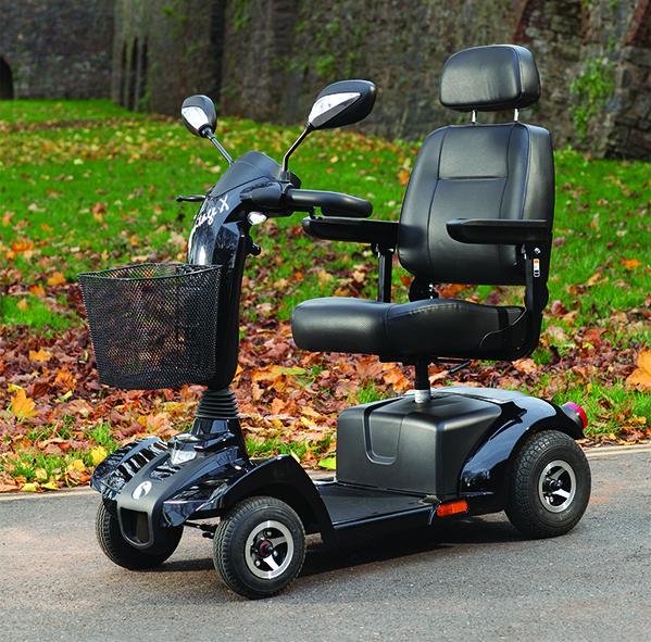 scooter elettrico vantage è affidabile e sicuro nella guida