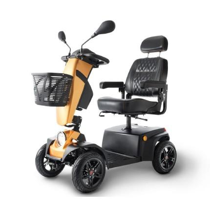 mobility scooter elettrico advantage: compatto, veloce e colorato